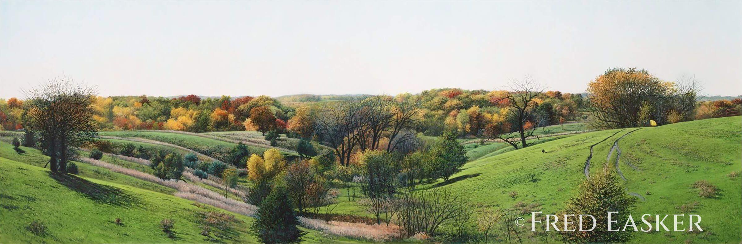 Autumn View Near Matsell by Fred Easker