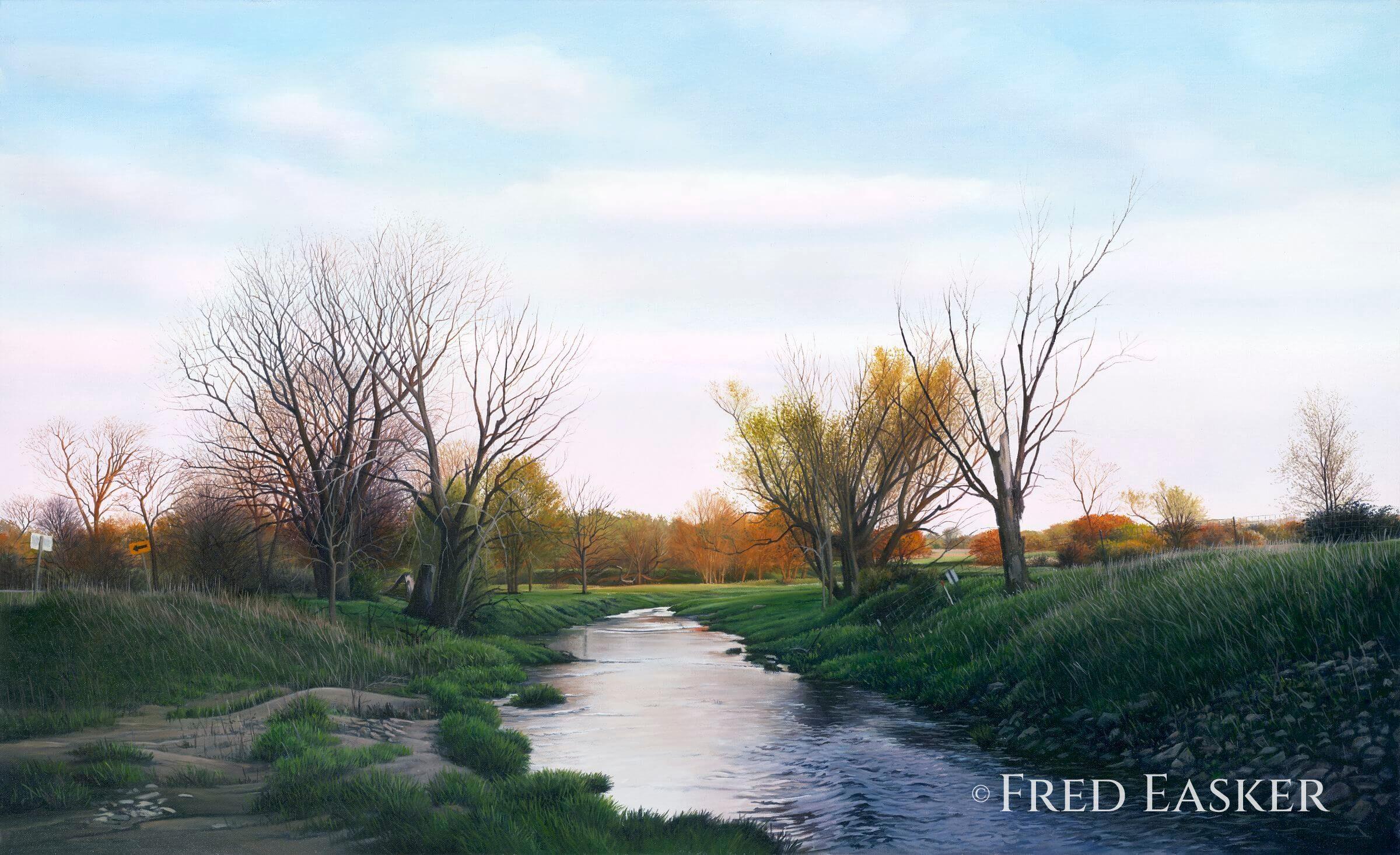 Blue Creek by Fred Easker