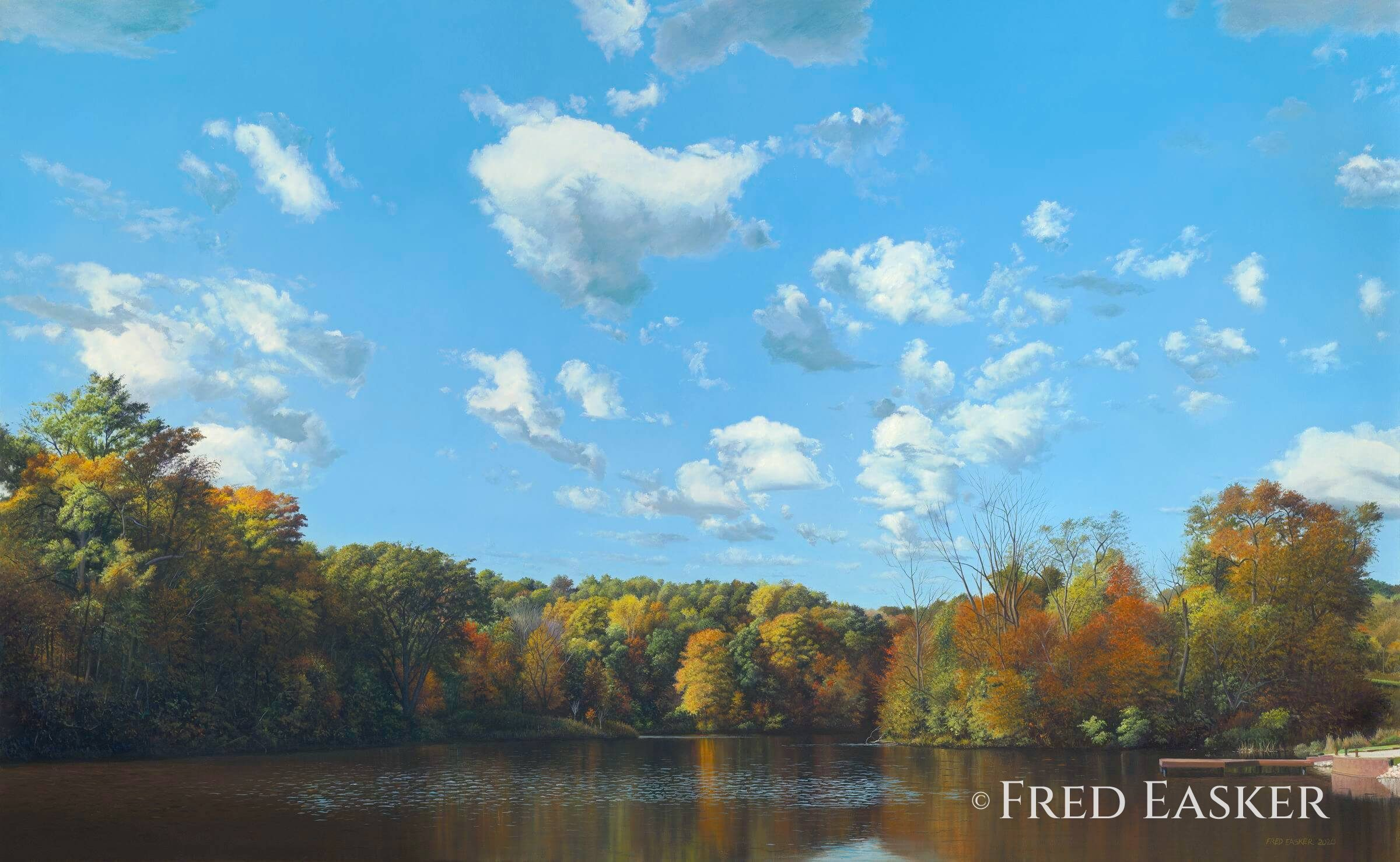 David's Pond by Fred Easker