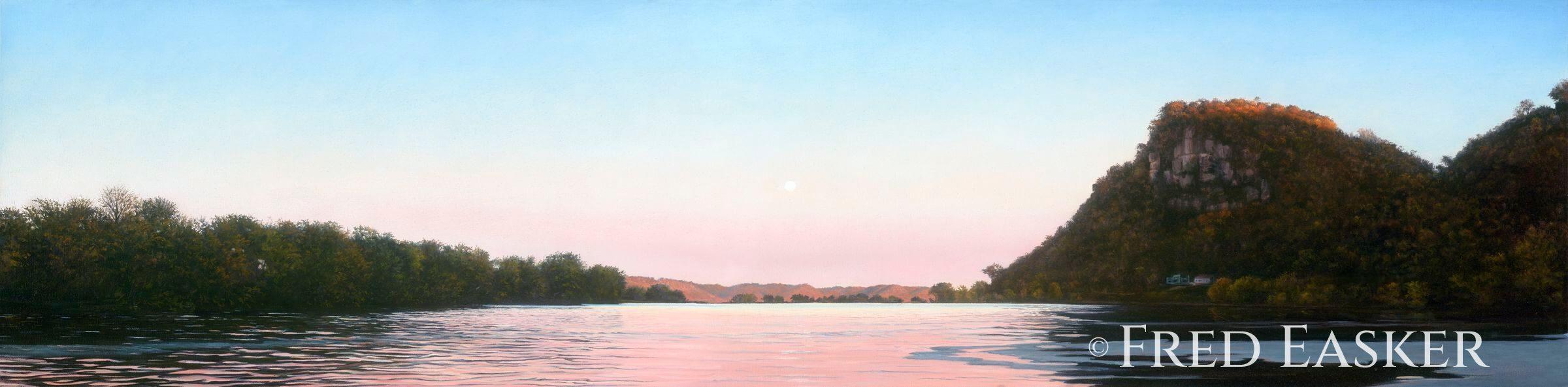 Lansing Twilight by Fred Easker