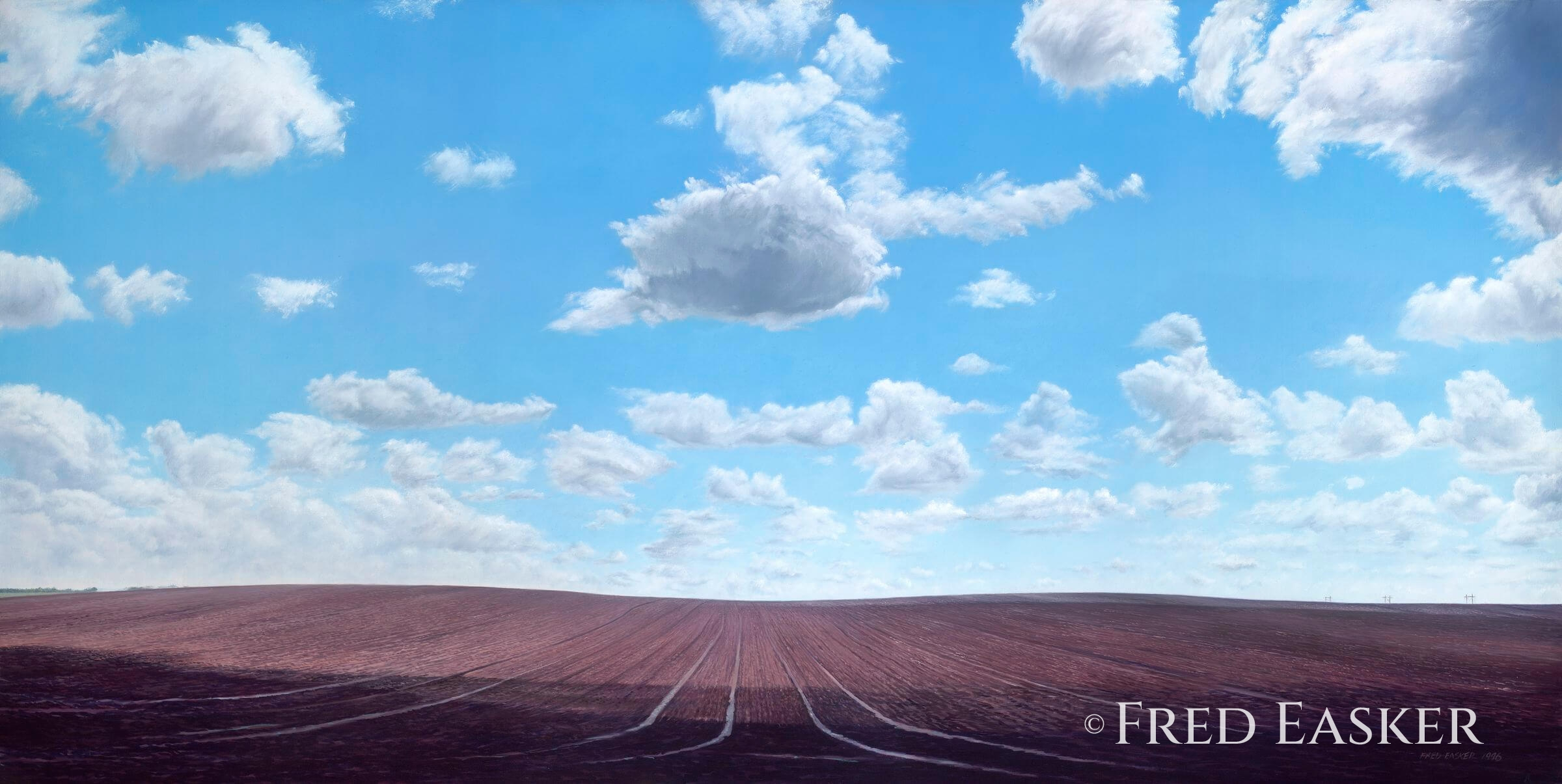 Spring Clouds by Fred Easker