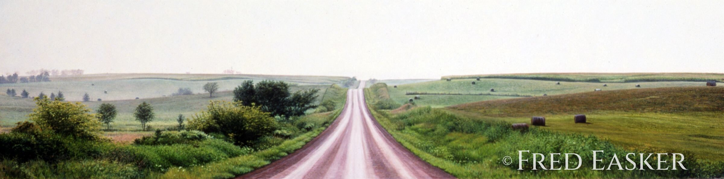Summer View Near Mt. Ayr by Fred Easker