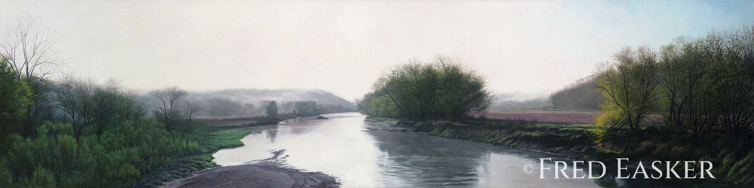 Turkey River Spring by Fred Easker
