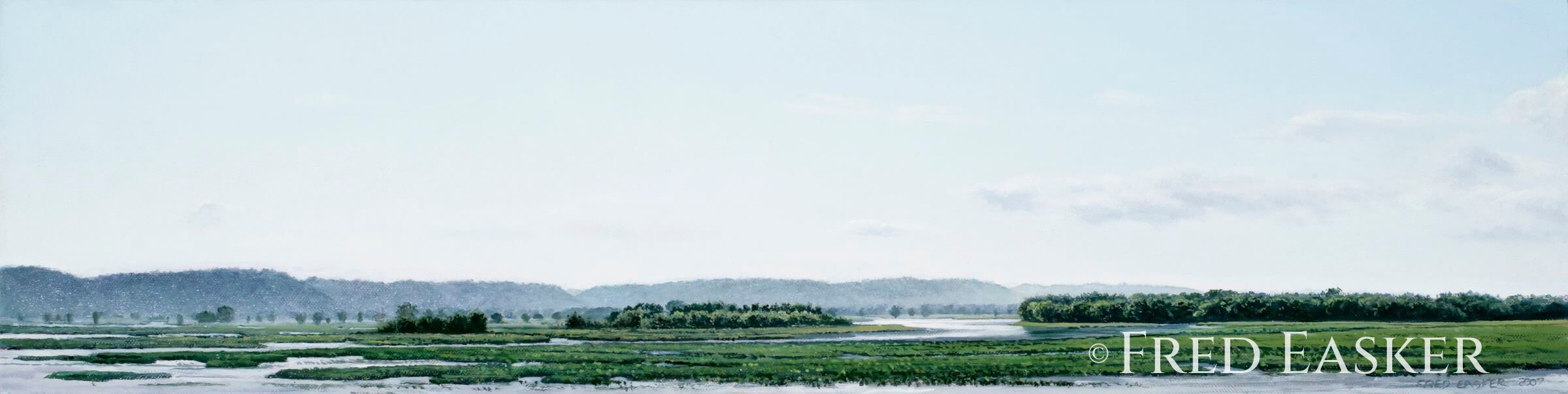 View Near Stoddard by Fred Easker
