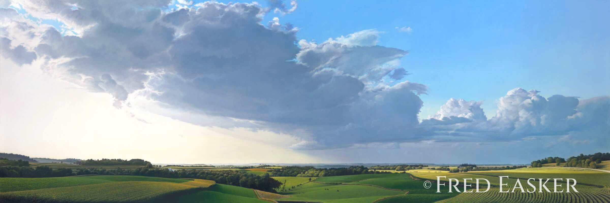 View From Hanover Road by Fred Easker