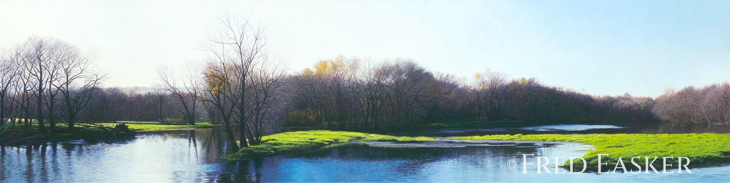 Winneshiek Wetland by Fred Easker