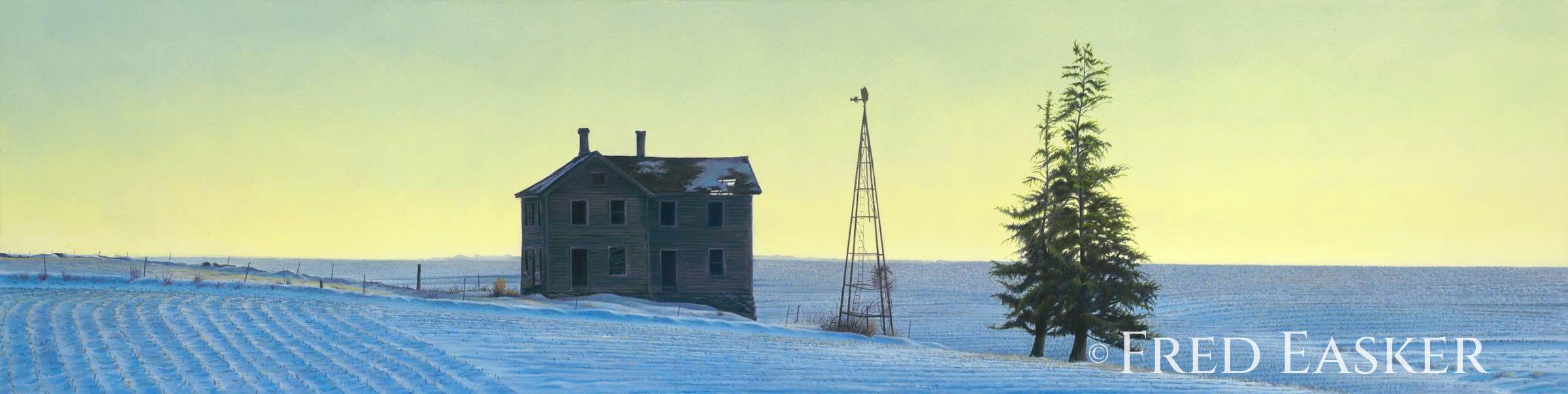 Winter Sentinels by Fred Easker